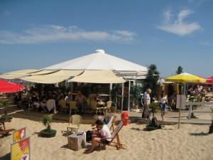 Relaxen am Duhner Strand in Cuxhaven.